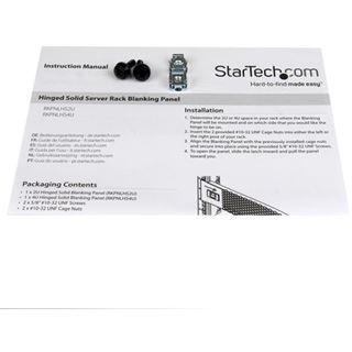 Startech 4U blank Panel mit Scharnier