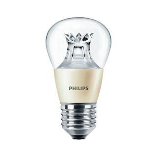 Philips MASTER LEDluster DT 6-40W P48 CL Klar E27 A+