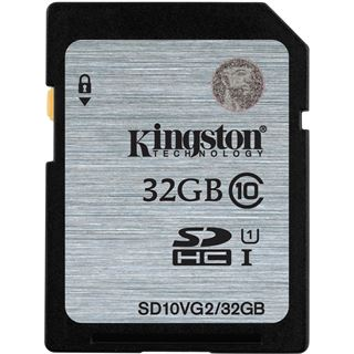 32 GB Kingston SD10VG2 SDHC Class 10 U1 Retail