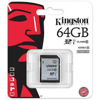 64 GB Kingston SD10VG2 SDXC Class 10 U1 Retail