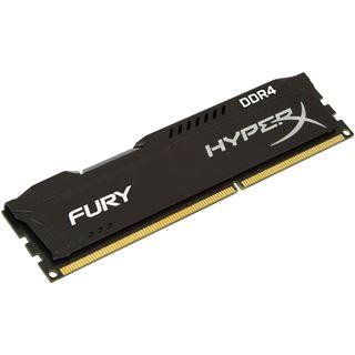8GB HyperX FURY schwarz Dual Rank DDR4-2400 DIMM CL15 Single