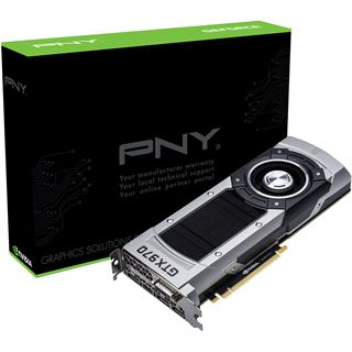 4GB PNY GeForce GTX 970 Aktiv PCIe 3.0 x16 (Retail)