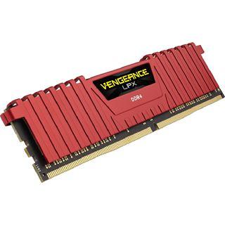 16GB Corsair Vengeance LPX rot DDR4-2666 DIMM CL16 Dual Kit