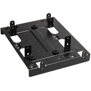 """Xigmatek 5,25"""" (13,34cm) zu 2,5""""(6,35cm)/3,5""""(8,89cm) SSD/HDD Adapter schwarz"""