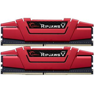 16GB G.Skill RipJaws V rot DDR4-2800 DIMM CL15 Dual Kit