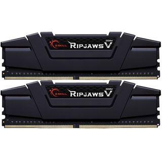 8GB G.Skill RipJaws V schwarz DDR4-3200 DIMM CL16 Dual Kit