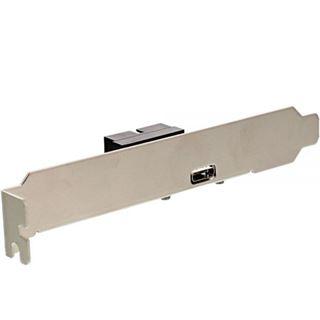 InLine Slotblech USB 3.1 1x USB Buchse Typ C auf intern Mainboardanschluss