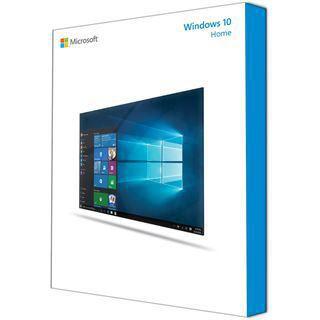 Microsoft Windows 10 Home 32/64 Bit Englisch DSP/SB