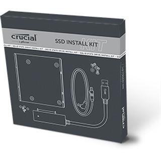 """Crucial Install Kit Einbaurahmen für 2,5"""" Festplatten (CTSSDINSTALLAC)"""