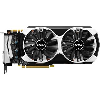 4GB MSI GeForce GTX 970 4GD5T OC Aktiv PCIe 3.0 x16 (Retail)