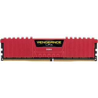 8GB Corsair Vengeance LPX rot DDR4-2666 DIMM CL16 Single