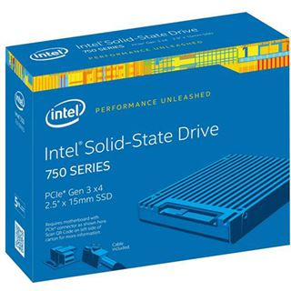 "800GB Intel 750 Series 2.5"" (6.4cm) SFF-8639 32Gb/s MLC (SSDPE2MW800G4X1)"