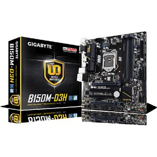 Gigabyte GA-B150M-D3H Intel B150 So.1151 Dual Channel DDR mATX Retail