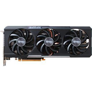 8GB Sapphire Radeon R9 390 Nitro inkl. Backplate Aktiv PCIe 3.0 x16 (Retail)