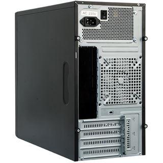Chieftec Mesh CD-01B-U3 Mini Tower 350 Watt Alu schwarz