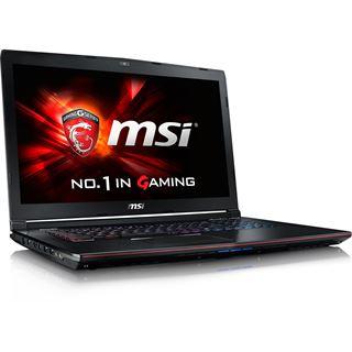 "Notebook 17.3"" (43,94cm) MSI GE72-2QDi716H11 Gaming Fulfillment Win10"