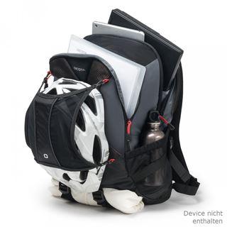 Dicota Rucksack Ride 14-15.6 schwarz
