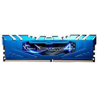 64GB G.Skill RipJaws 4 blau DDR4-2133 DIMM CL15 Octa Kit