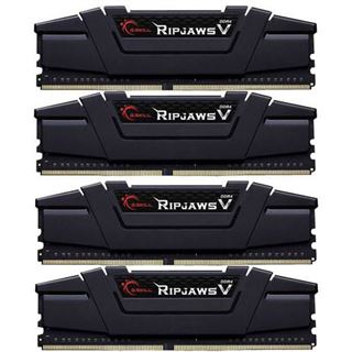 32GB G.Skill RipJaws V schwarz DDR4-3200 DIMM CL16 Quad Kit