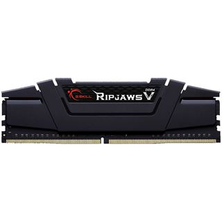 32GB G.Skill RipJaws V schwarz DDR4-3200 DIMM CL16 Quad Kit