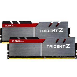 16GB G.Skill Trident Z silber/rot DDR4-3000 DIMM CL15 Dual Kit