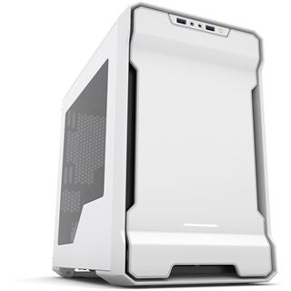 Phanteks Enthoo Evolv ITX mit Sichtfenster Mini Tower ohne Netzteil weiss/schwarz