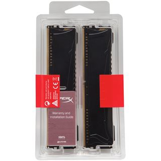 8GB Kingston HyperX Savage DDR4-2400 DIMM CL12 Dual Kit