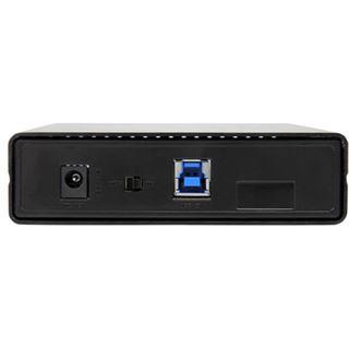 """Startech S351BU313 3.5"""" (8,89cm) USB 3.1 schwarz"""
