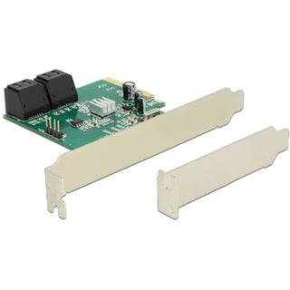 Delock 89395 4 Port PCIe x4 Low Profile retail