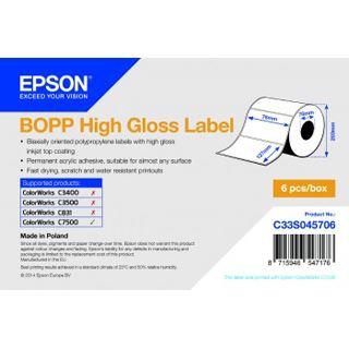 BOPP Epson High Gloss Label 76x127mm