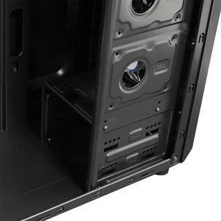 Cooltek X5 Midi Tower ohne Netzteil schwarz