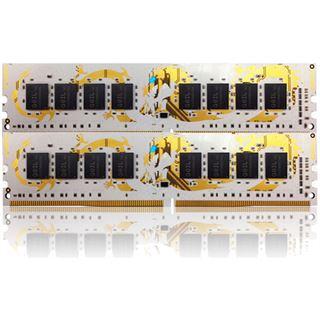 16GB GeIL white Dragon DDR4-2400 DIMM CL14 Dual Kit