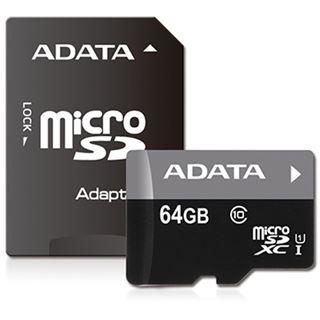 128 GB ADATA Premier microSDXC Class 10 U1 Retail inkl. Adapter