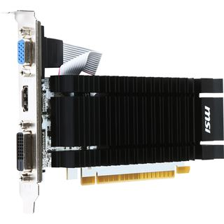 2GB MSI GeForce GT 730 Passiv PCIe 2.0 x16 (Retail)