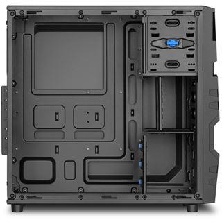 Sharkoon VG5-V Midi Tower ohne Netzteil schwarz