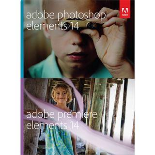 Adobe Photoshop Elements 14.0 und Premiere Elements 14.0 32 Bit Deutsch Multimedia Vollversion 1 User PC / Mac (DVD)