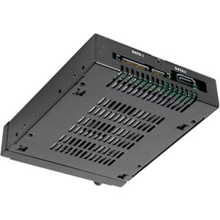 "Icy Dock MB492SKL-B Wechselrahmen 2x2,5""SATA/"