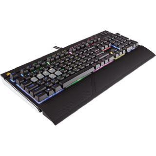 Corsair STRAFE CHERRY MX RGB Silent USB Deutsch schwarz (kabelgebunden)