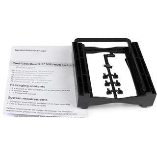 """Startech Einbaurahmen für 2,5"""" Festplatten (BRACKET225PT)"""