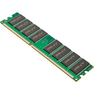 1GB PNY MD1GSD1400 DDR-400 DIMM CL3 Single