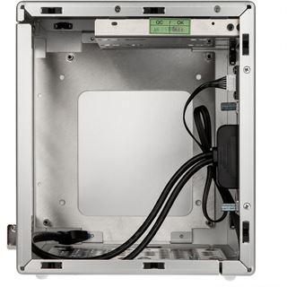 Lian Li PC-Q20A Mini-ITX ohne Netzteil silber