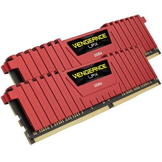 8GB Corsair Vengeance LPX rot DDR4-3000 DIMM CL15 Dual Kit