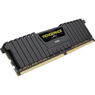8GB Corsair Vengeance LPX schwarz DDR4-2666 DIMM CL16 Single