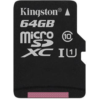64 GB Kingston SDC10G2 microSDXC Class 10 Retail