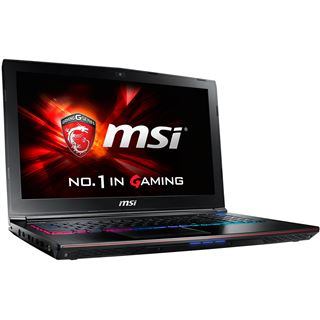 "Notebook 15.6"" (39,62cm) MSI GE62 6QF Apache Pro - GE62-6QF16H21"