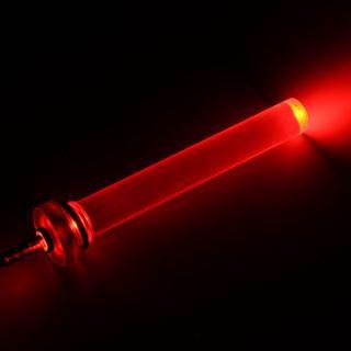"""PrimoChill PrimoCHILL G1/4"""" Tower Plug 7,6 cm 2x 5mm orange-rote LED"""