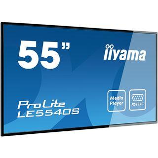 "55"" (139,70cm) iiyama ProLite LE5540S-B1 schwarz 1920x1080 1xDVI / 1xHDMI / 1xVGA"