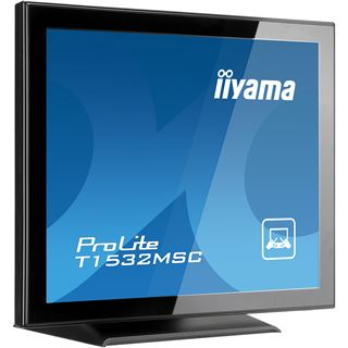 "15"" (38,10cm) iiyama T1532MSC-B3X Touch schwarz 1024x768 1xVGA / DVI"