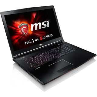 "Notebook 17.3"" (43,94cm) MSI GE72 6QD Apache Pro - GE72-6QD161"