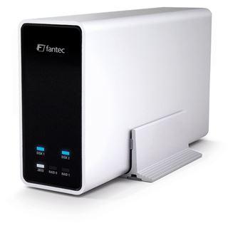 "Fantec mobiRAID X2 2.5"" (6,35cm) USB 3.0 silber"